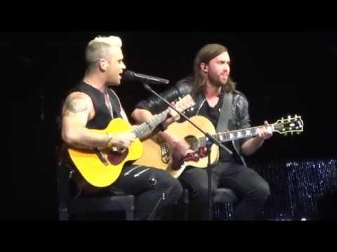 Robbie Williams (feat. Tim Metcalfe) - Motherfucker (HD) Live In Paris 2015