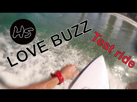 testing the Hs LOVE BUZZ in Main Beach Gold Coast Australia