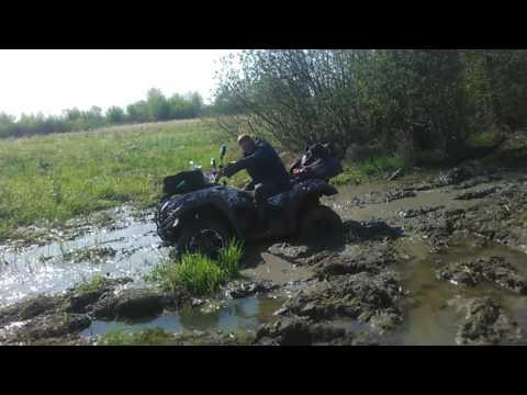 Квадрик РМ 500 грязь прорва
