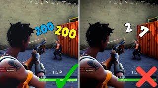 Como melhorar o seu objetivo Fortnite-Shotgun & Tracking pontas de mira!
