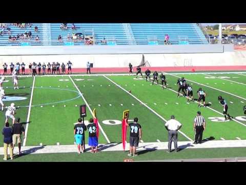 Wyatt Wieland | Freshman Football Highlights | Pine Creek High School