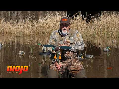 MOJO Outdoors: Screamin' Woody - Spinning Wing Duck Decoy
