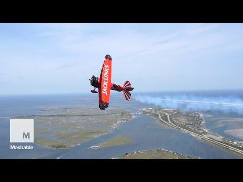 Flying around with the Screamin Sasquatch | Mashable