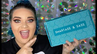 October Smartass and Sass Unboxing   FUNNY SUBSCRIPTION BOX UNBOXING