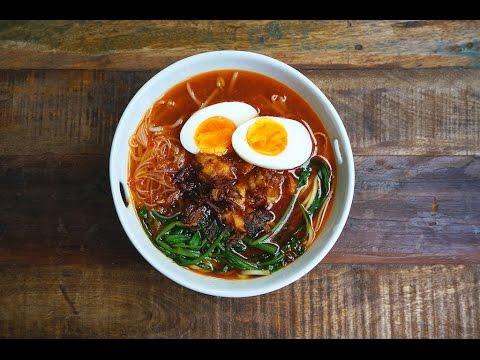Hae Mee (Prawn Noodles)