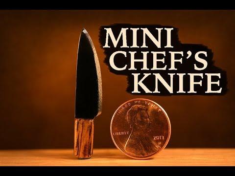 HOW TO MAKE - MINI CHEF'S KNIFE!