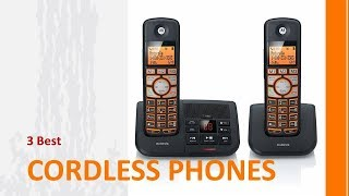 3 Best Cordless Phones To Buy 2019 - Cordless Phones Reviews