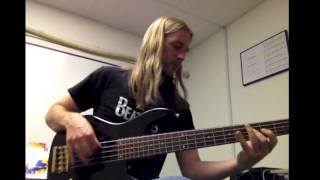 The Beatles - Twist and Shout - Bass Cover by Aidan Hampson HD