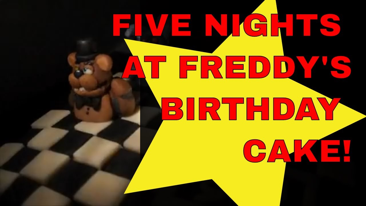 Five Nights At Freddy S Happy Birthday Cake
