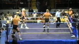 WW 10/14/89- Skyscrapers vs Tommy Rich & Eddie Gilbert