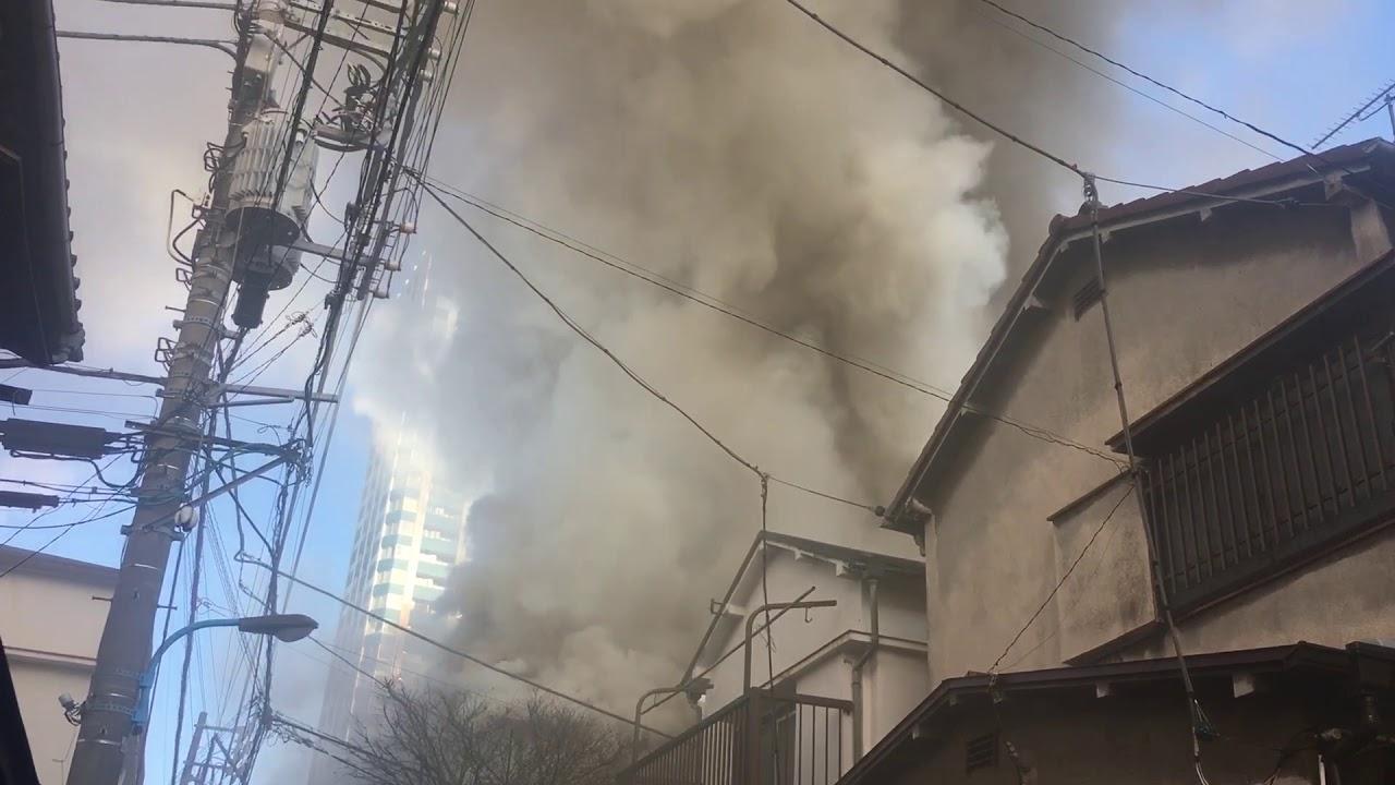 火事 西 新宿