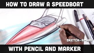 How to draw anything: a speed boat