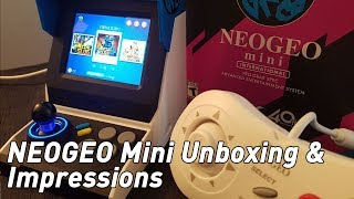 Neo Geo Mini Unboxing: a nifty new micro console