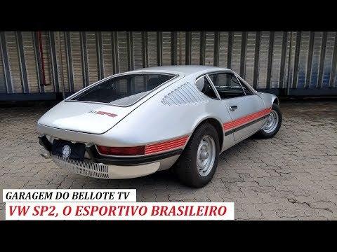 Garagem do Bellote TV: SP2, o esportivo 100% nacional da Volkswagen