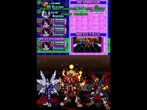 Digimon World Dusk Legendary tamer quest - Omnimon vs All (part1)