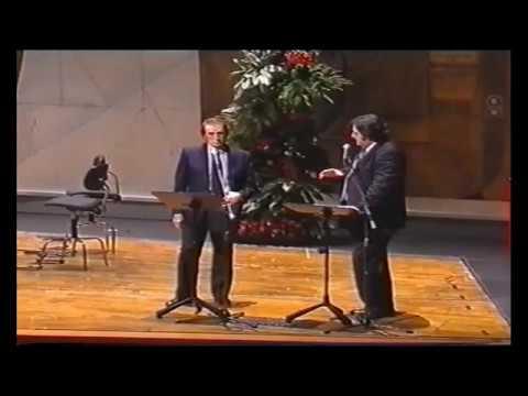 Franco Corelli alla Serata di gala in suo onore Una Rosa per Genova 2002