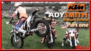 Ady Smith KTM Enduro School - Video Diary (Part 1)