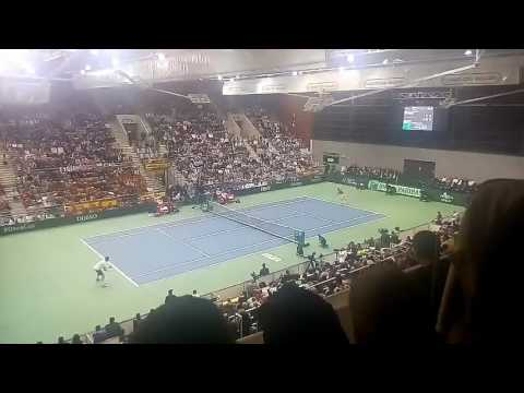 Tennis Croatia vs Spain #DavisCup Osijek, Croatia