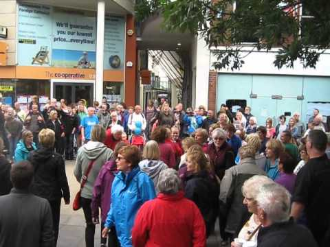Rock Choir Flashmob