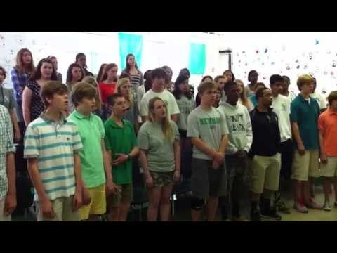"Newman Choir Sings ""The Lord Bless You and Keep You"""