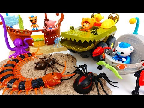 Thumbnail: Underwater Earthquake~! Octonauts Defeat Monsters & Protect Sea Creatures