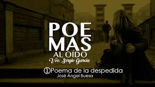 Poemas al oído-Poema de la despedida Jose Angel Buesa