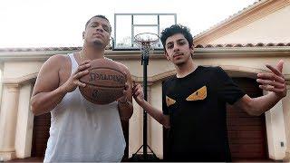 FAZE RUG 1V1 BASKETBALL CHALLENGE!!