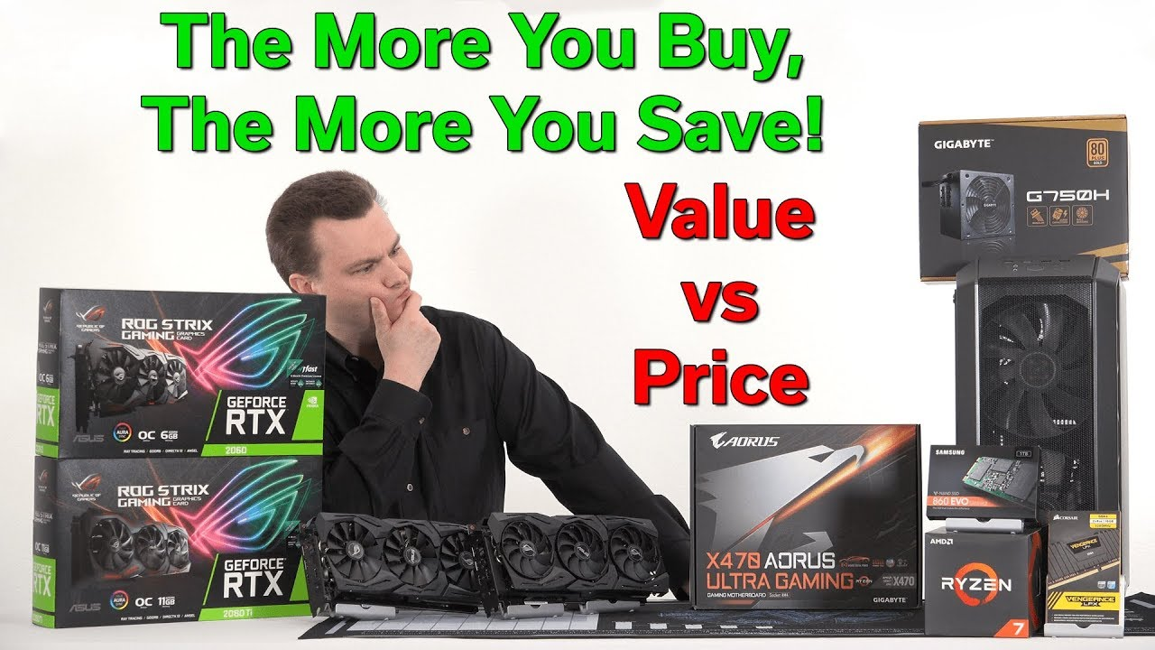 The More You Buy, The More You Save — Price vs Value — RTX 2060 vs RTX 2080  TI