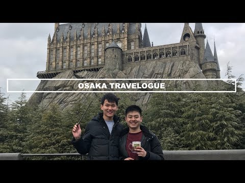 OSAKA TRAVELOGUE - #GABGOESTOJAPAN2018