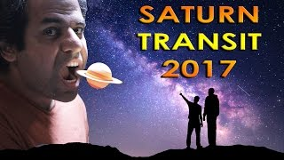 Saturn transit in Sagittarius over planets in 2017 Vedic Astrology part 2