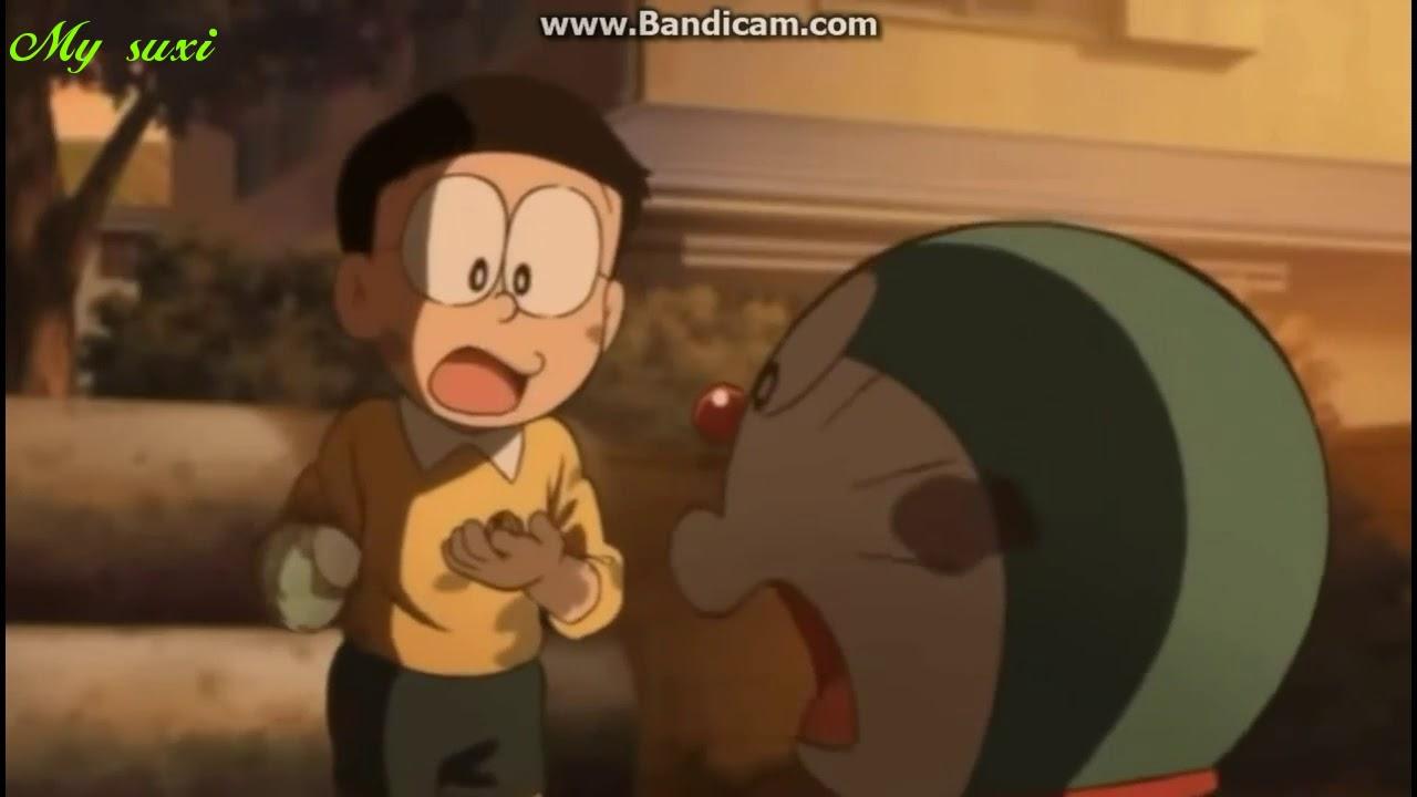 """Doraemon """" Viện bảo tàng bảo bối bí mật """" đoạn phim cảm động ( Hazy moon )"""
