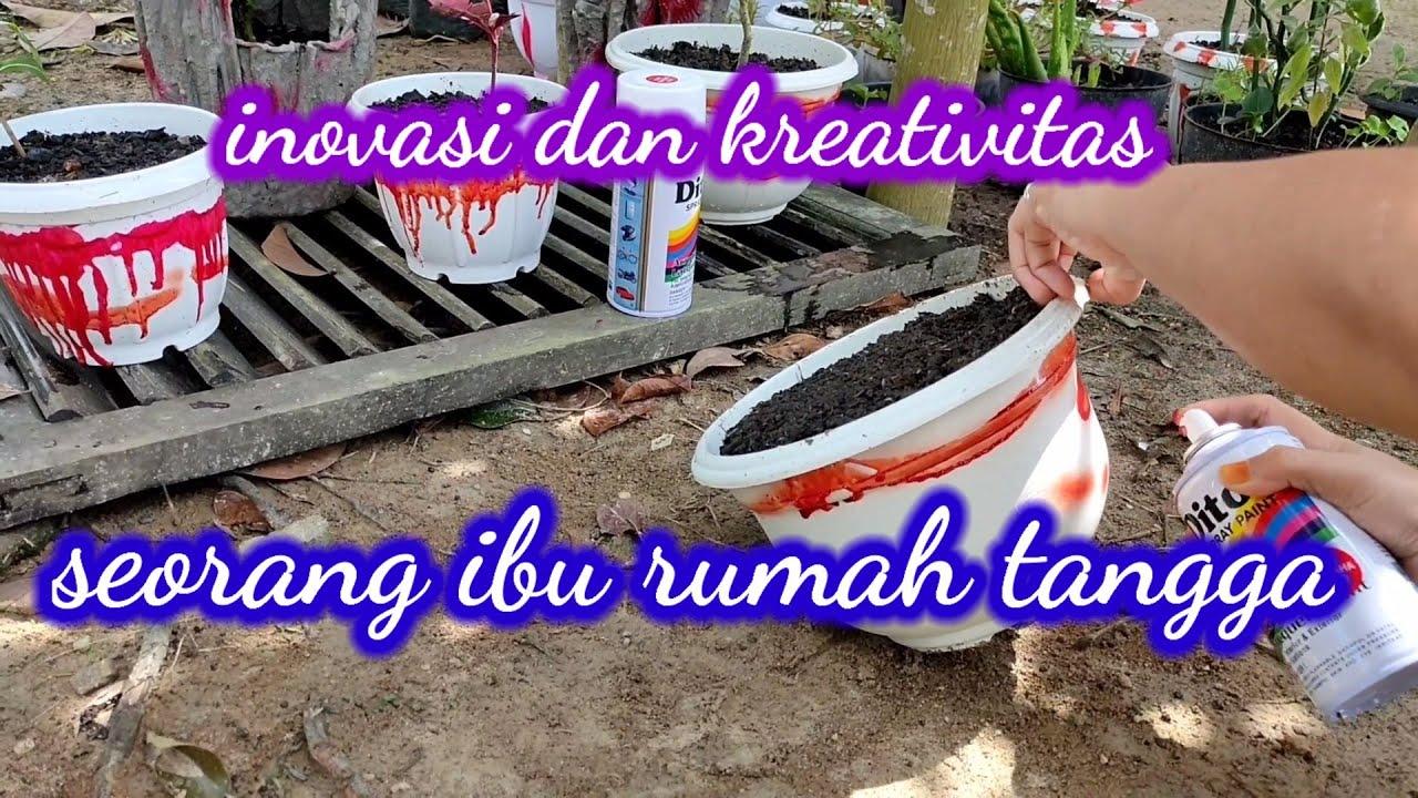 Kreativitas dan inovasi ibu rumah tangga
