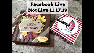 FB LIVE NOT LIVE