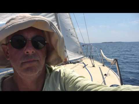 j24 Jungle sails Ionian, Greece