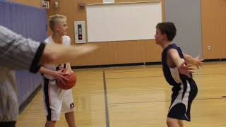 Oceanside at Medomak 7th grade boys basketball