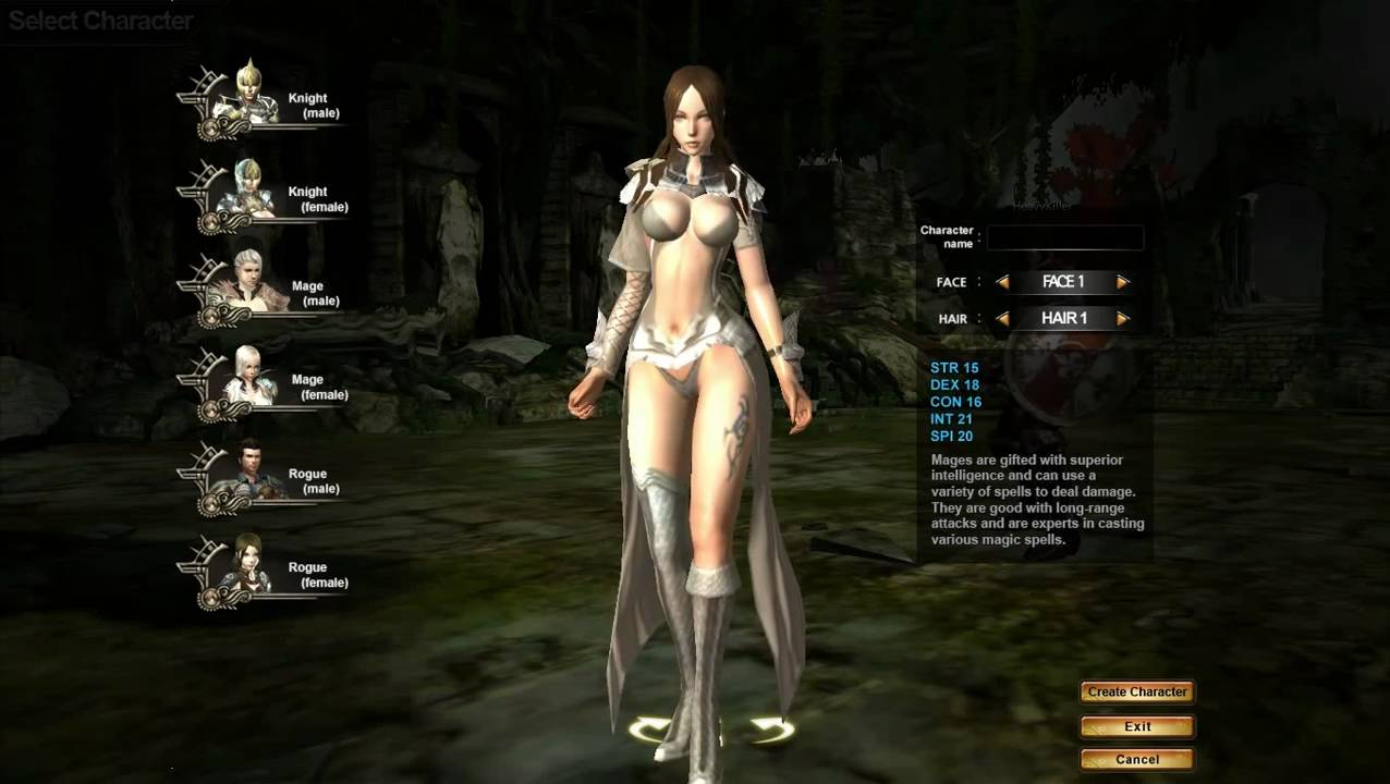 Blade and soul nude mod character creation - 3 part 6