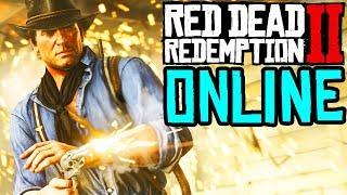 RED DEAD REDEMPTION 2 ONLINE is LIVE \\ RDR2 ONLINE GAMEPLAY