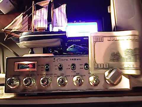 cb radio 145 black cat in n.y. talking to booty smacker & revel doctor 455