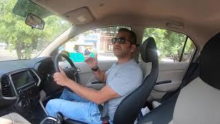 2018 Hyundai Santro - AMT Drive Review (Hindi + English)