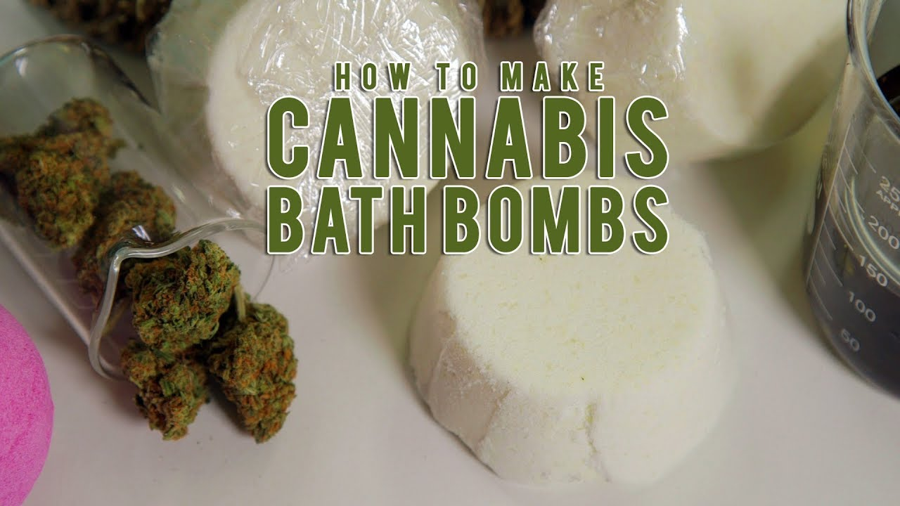 How To Make Soothing Cannabis Bath Bombs: Cannabasics #87