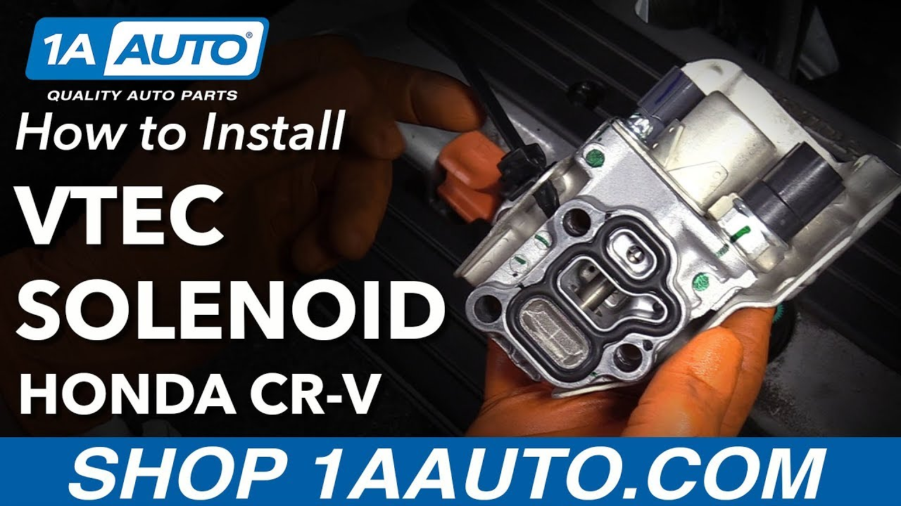 2014 crv vtc actuator replacement