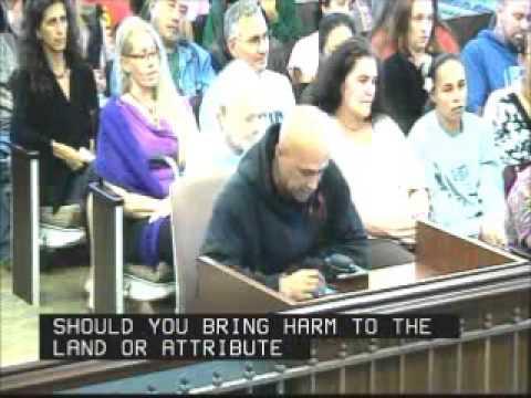 Donovan Cabebe Kanaka Maoli Testimony Kauai County Council Nov  14, 2013