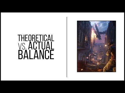 When Spreadsheet Balance Isn't Enough - Battlefield 1