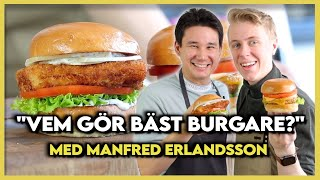 Manfred Erlandsson   Hamburgare Challenge - vem gör bäst hamburgare?