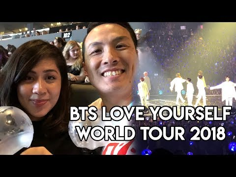 [FANCAM] BTS Love Yourself Concert at Staples Center in Los Angeles