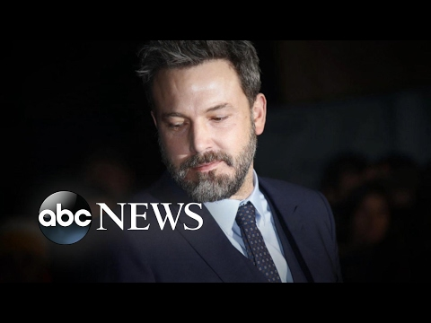 Ben Affleck confirms 'treatment for alcohol addiction'
