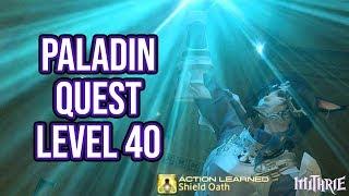Ffxiv 2.1 0183 Paladin Quest Level 40