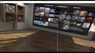 Настройка кімнати в Steam VR і перше занурення у Віртуальну реальність