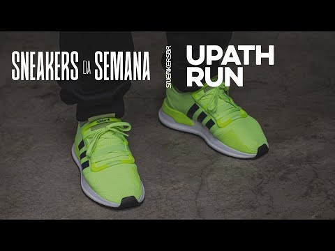 mayoria trabajo También  Sneakers da Semana - adidas U-Path Run - YouTube