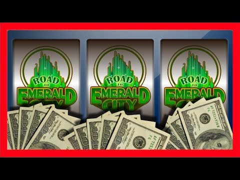 A VISIT FROM EVERYONE! Road To Emerald City Slot Machine JUST BONUSES! Wizard of Oz Slots With SDGuy - 동영상